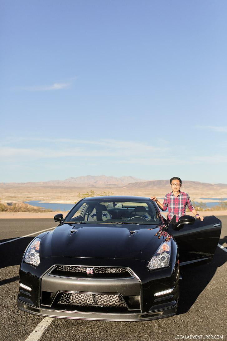 World Class Driving Las Vegas: Test Driving a Lamborghini.