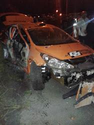 Crash Vanneste in Omloop van Vlaanderen 2013