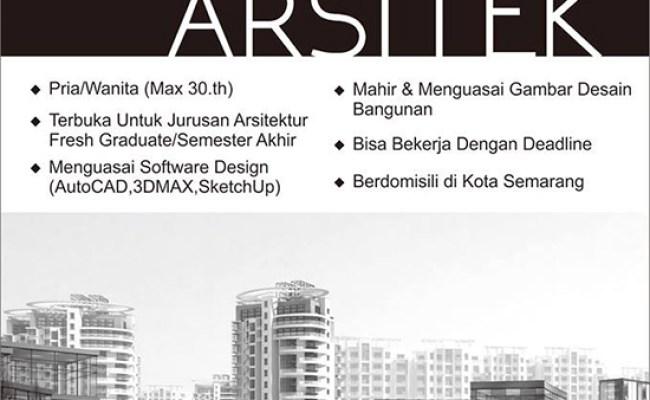 Lowongan Desain Interior Semarang Lowongan Kerja Cute766