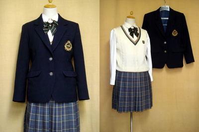 宮崎日本大学高等学校の女子の制服5