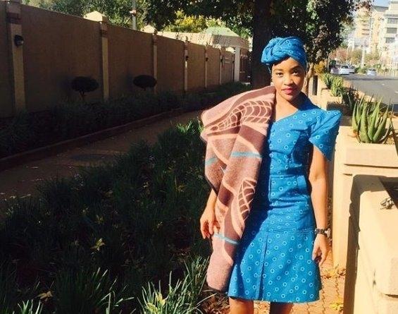 Stylish Shweshwe Dresses