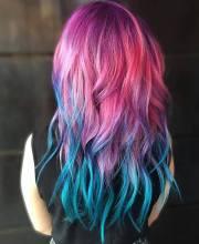 popular & magical mermaid hair
