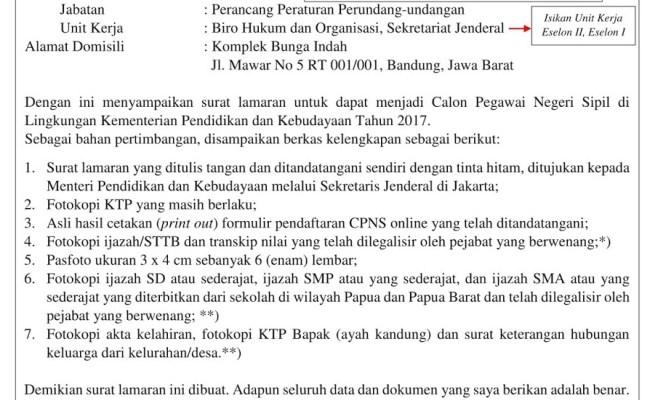 Contoh Surat Lamaran Kerja Di Pt Hwi Jepara Berbagi Contoh Surat Cute766