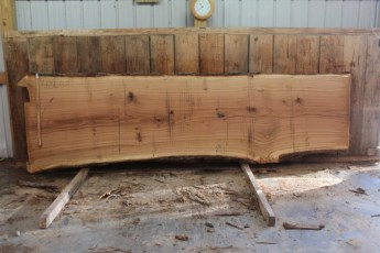 "480 White Oak -3 10/4  x  46"" x  38"" Wide x 13' Long"
