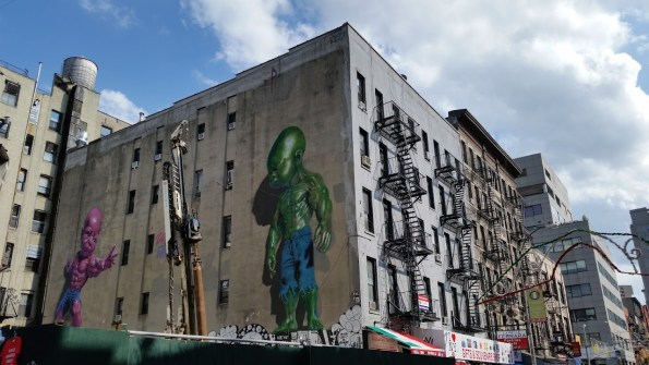 Impressive street art in Little Italy