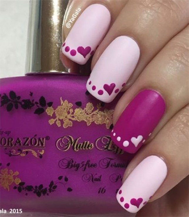 Best Cute Valentines Day Nail Art Designs Reny Styles