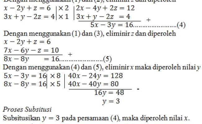 Contoh Soal Matematika Variabel Bangsoal Cute766