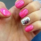 trendy spring nail art  for 2015