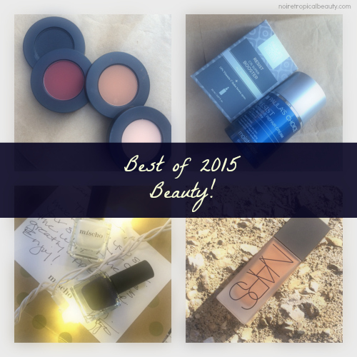 noiretropicalbeauty favourites best beauty products 2015