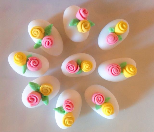 Confetti decorati con roselline