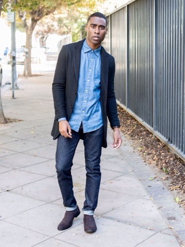 Image result for black fashion blogger with chelsea boots