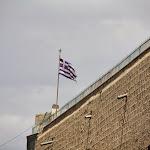 греческий флаг в Яффо.JPG