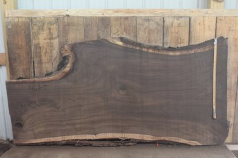 "463 Walnut -7 2 1/2"" x 43"" x 31"" Wide x 8' Long"