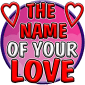 Test: Name of your Love icon