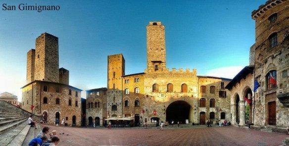 Ruta por la Toscana y norte de Italia. San Gimignano