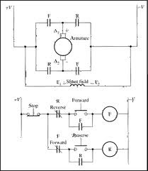 single phase motor: Wiring Diagram Single Phase Ac Voltage Electric Motor