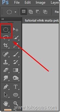 tutorial efek mata pelangi photoshop 1