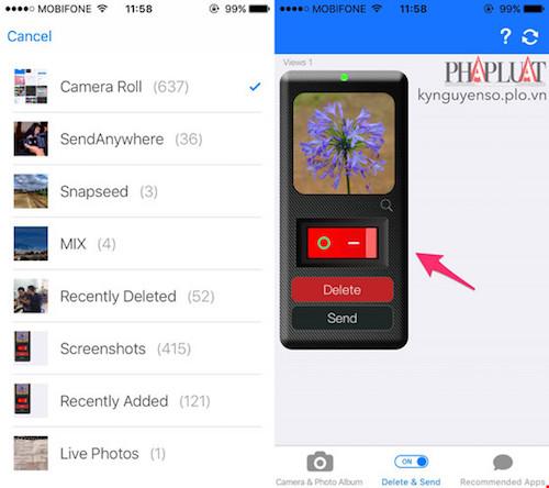 Cách lấy lại hoặc xóa hình ảnh đã gửi trên Facebook Messenger