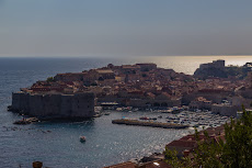 Dubrovnik from the south.