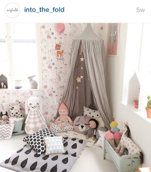 Into the fold instagram - child's bedroom