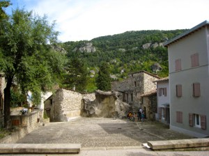 Annot looking towards Grès d'Annot