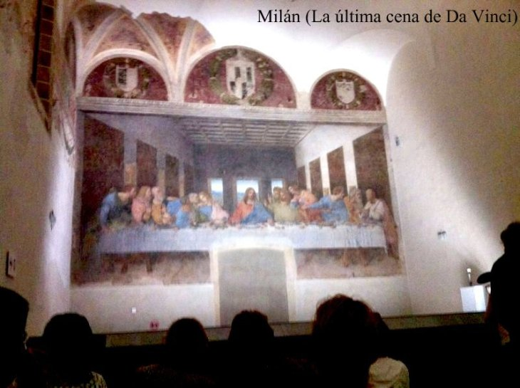 Ruta por la Toscana y norte de Italia. La última cena de Da Vinci
