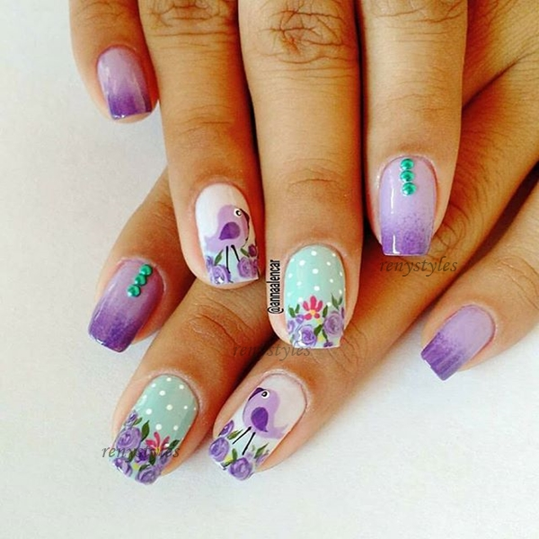 30 Gorgeous Nail Art Designs That You Will Really Love Reny Styles
