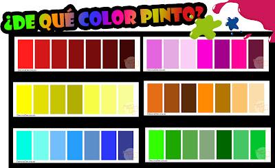 ¿De qué color pinto?