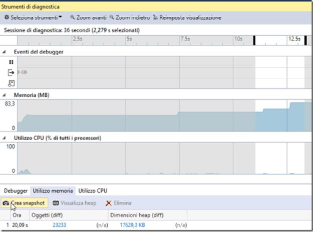FIGURA 5 thumb1 - Parte uno: strumenti per il debug in Visual Studio 2015