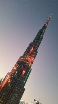 Burj Kalifa light show
