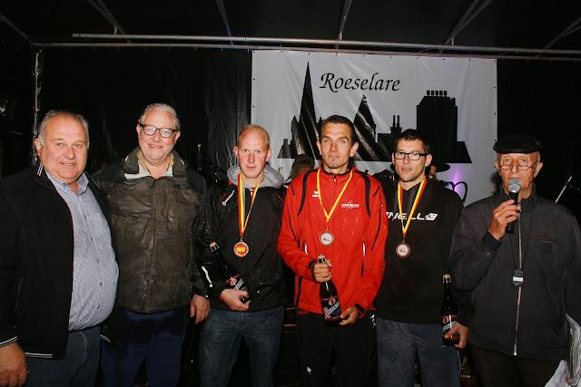 podium heren Krottegemse corrida 5 km jogging