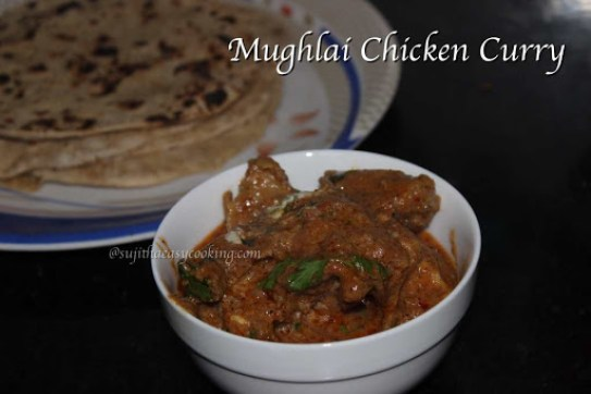 Mughlai Chicken Curry1