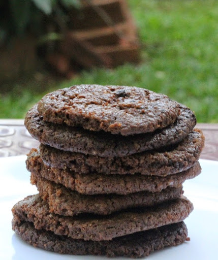 Dark Chocolate Cookies Recipe | Eggless Cookies & Biscuits | How to make Chocolate cookies | Written by Kavitha Ramaswamy of www.Foodomania.com