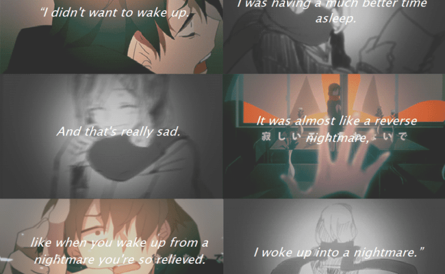 Saddest Anime Quotes Quotesgram