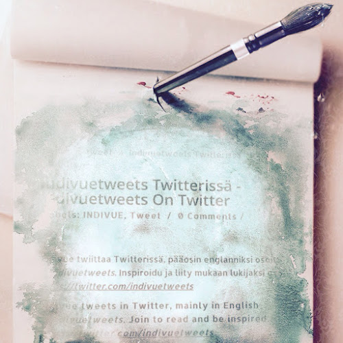 Indivuetweets Twitterissä - Indivuetweets on Twitter