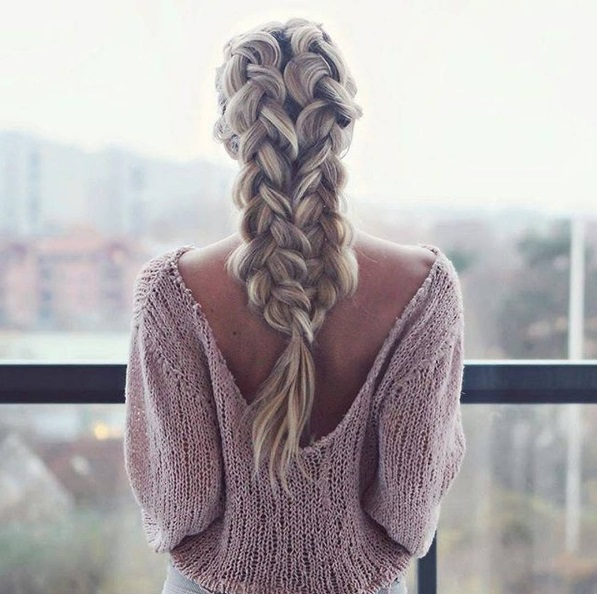 original ideas for hairstyles with pigtails 2018 3