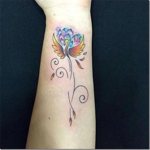 Tatuajes De Fénix Hermosas E Inspiradoras Tatuajes247