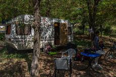 Back at our caravan