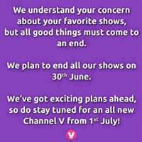Star india's Channel V soon going to convort into music channel. And comming soon on DD Freedish 2