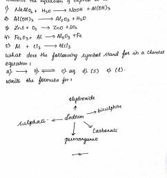 Siri's corner: ICSE GRADE 9 language of chemistry worksheet [ 1600 x 1146 Pixel ]