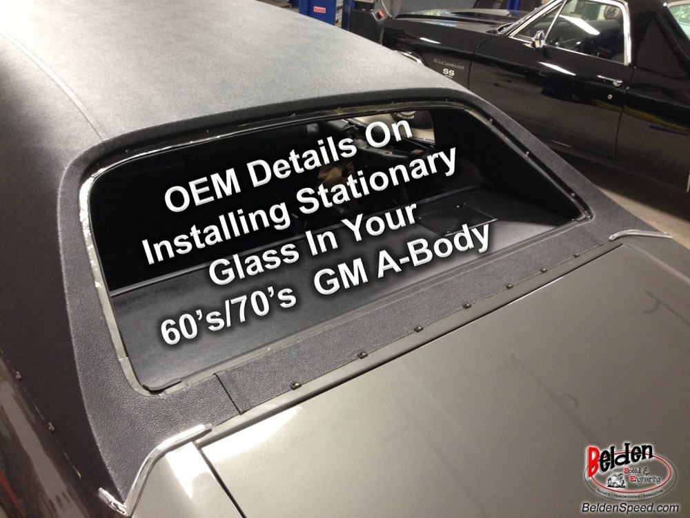 medium resolution of 1960 s 70 s gm a body stationary oem installation details