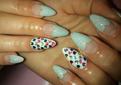cute valentines day nails designs 2017  styles 7