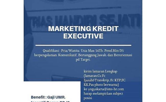 Lowongan Kerja Pt Intrias Mandiri Sejati April 2019 Marketing Kredit Soloraya Magelang Cute766