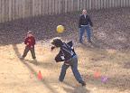 Jan, 2006 - Poppa (Grandpa Celeste), Connor and Logan