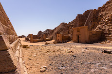 The pyramids of Meroe...