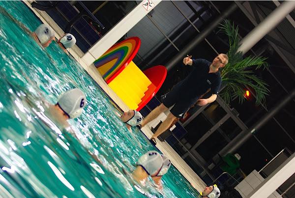 Waterpolo aanwijzingen van coach