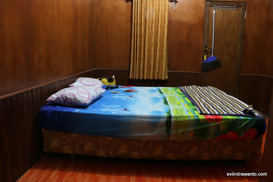 Tempat tidur Derawan Fisheries Cottages