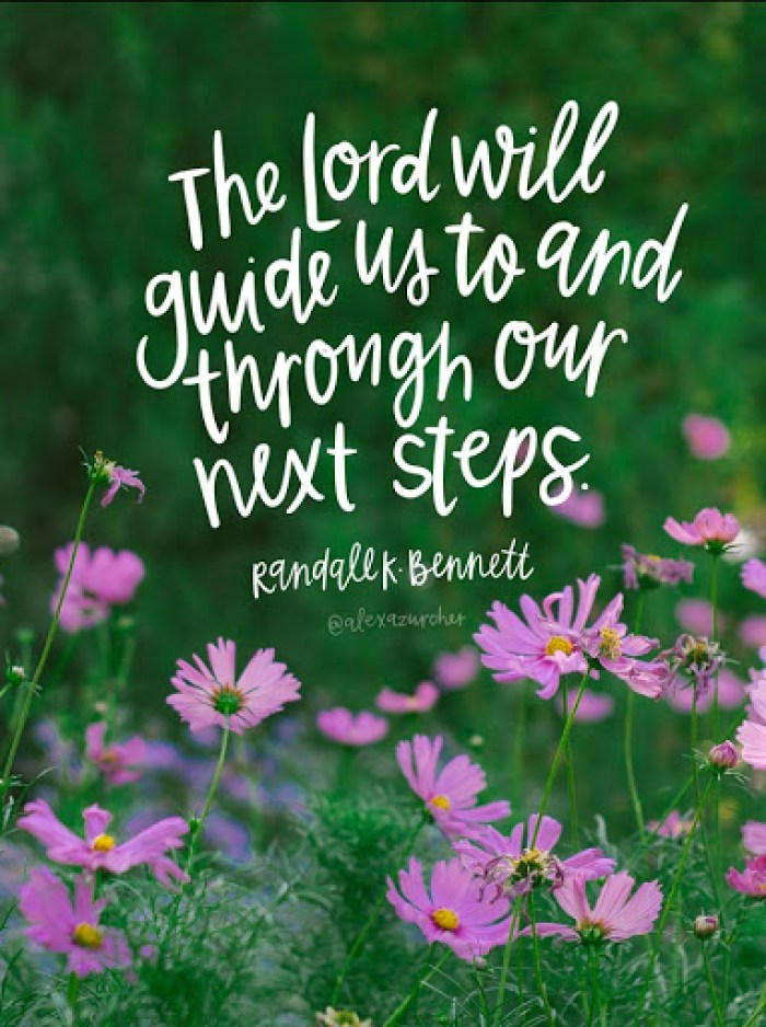 the lord will lead us