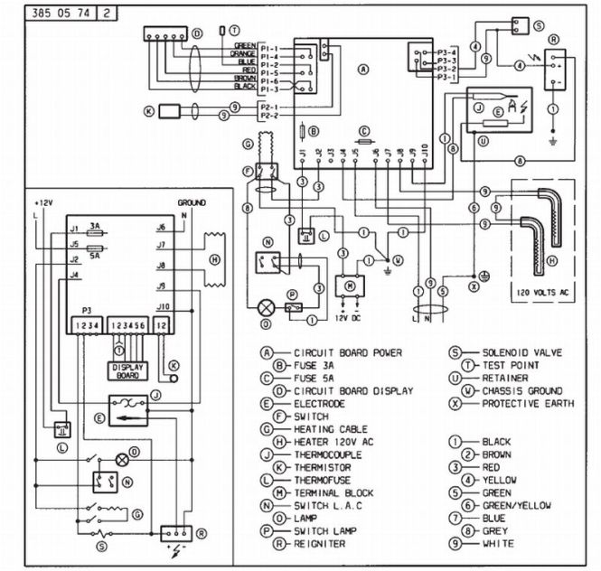 wiring diagram for a dometic refrigerator  u2013 the wiring