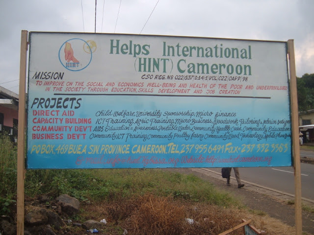 IT Training at HINT - HINTSignBoard.JPG